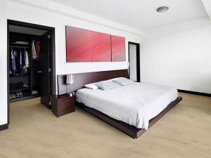 Puurkurk kurkvloeren slaapkamer