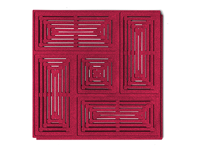Muratto Acoustic Panels Buzzer red