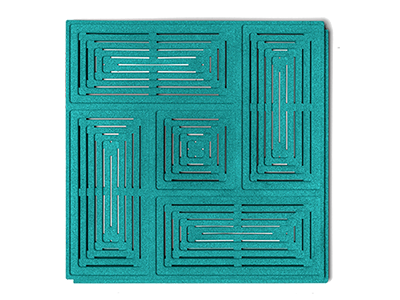 Muratto Acoustic Panels Buzzer turquoise