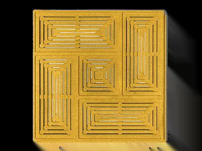 Muratto Acoustic Panels Buzzer yellow