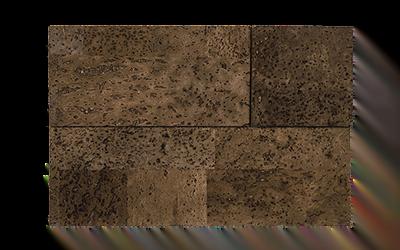 Muratto Cork Bricks 3D brown