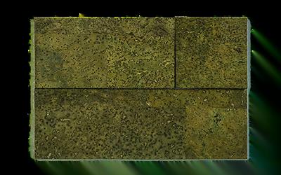 Muratto Cork Bricks 3D green