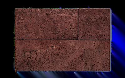 Muratto Cork Bricks 3D terracotta
