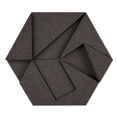Muratto Design blocks Hexagon grey