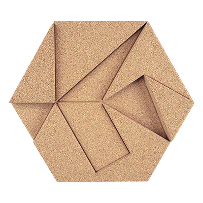 Muratto Design blocks Hexagon ivory