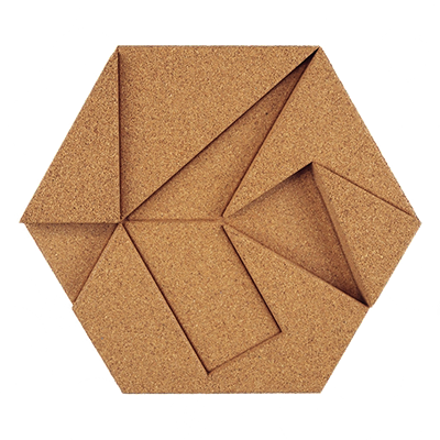 Muratto Design blocks Hexagon natural