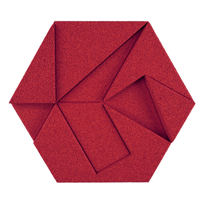 Muratto Design blocks Hexagon red