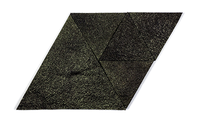 Muratto Korkstone Triangle Black Gold