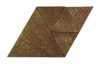 Muratto Korkstone Triangle Brown Gold