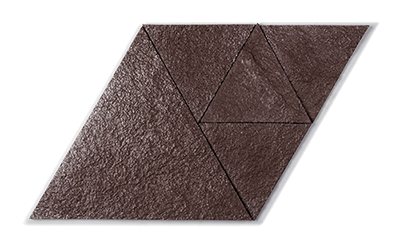 Muratto Korkstone Triangle Brown Silver