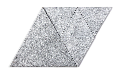 Muratto Korkstone Triangle Platinum