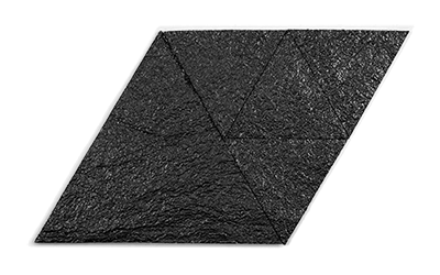 Muratto Korkstone Triangle Sandstone black