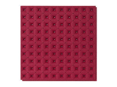 Muratto Acoustic Panels Undertone red