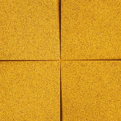 Muratto Design blocks Chock yellow