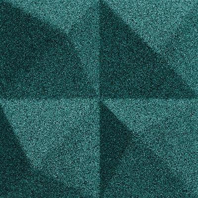 Muratto Design blocks Peak emerald