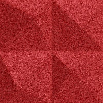 Muratto Design blocks Peak red