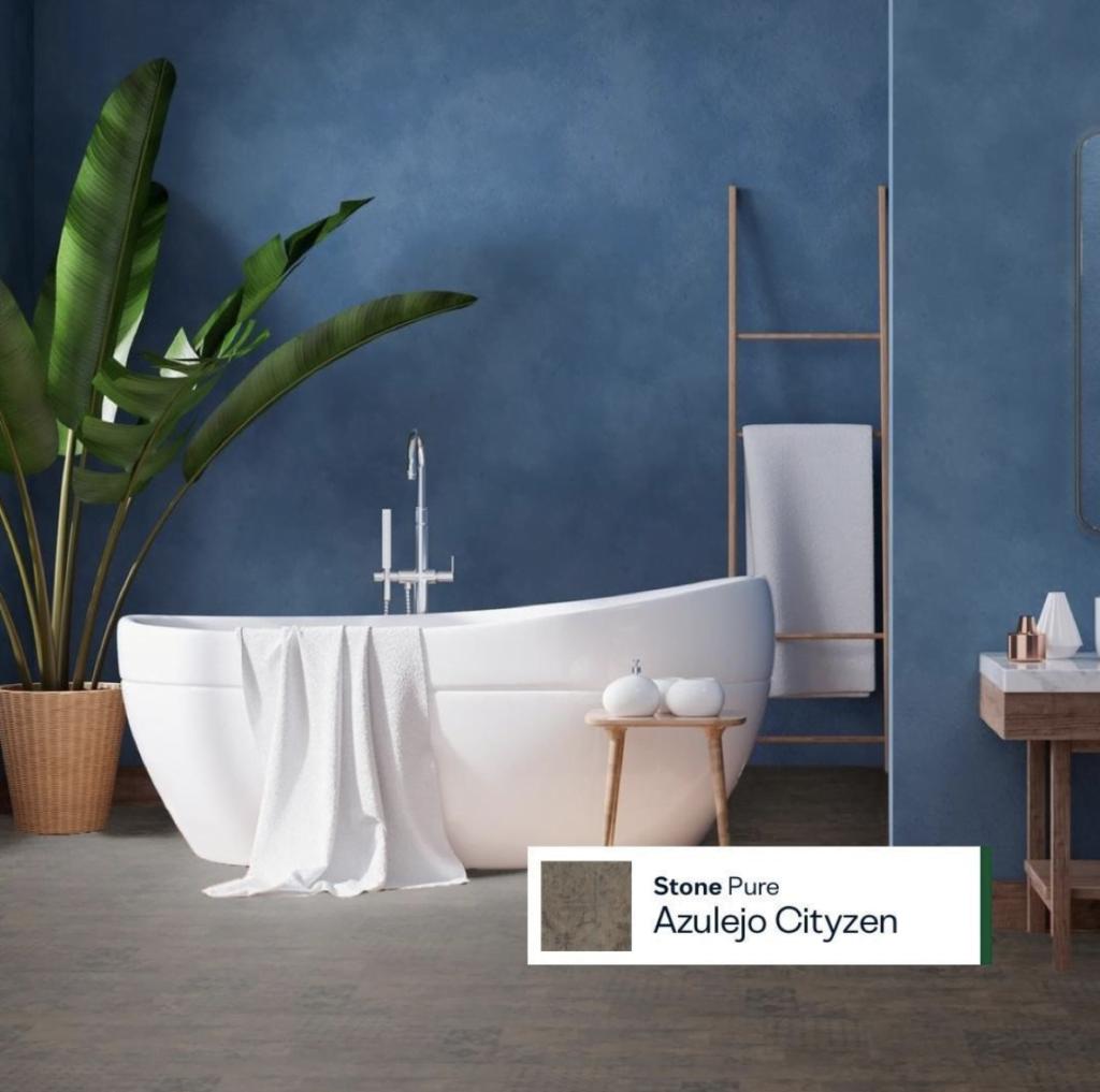 Al eens gedacht aan een kurkvloer in de badkamer?
